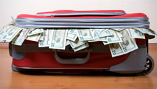 money-suitcase