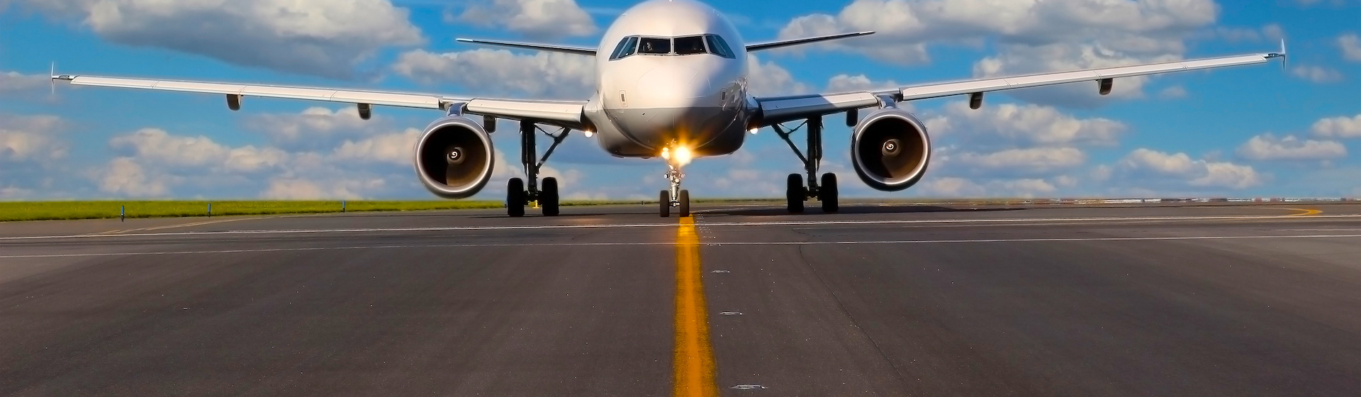 Plane on tarmac