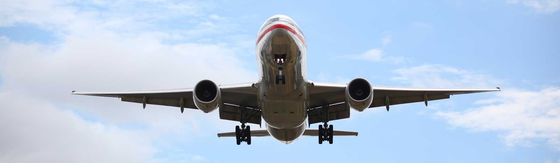 American Airlines Plane mid-flight