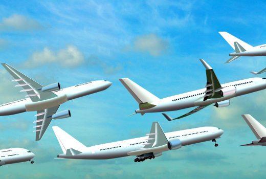 Several jets in flight