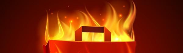 Bag on Fire