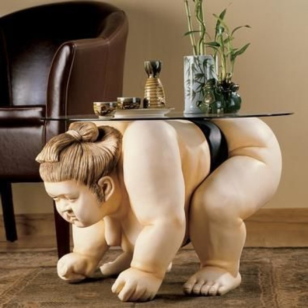SkyMall Sumo Table