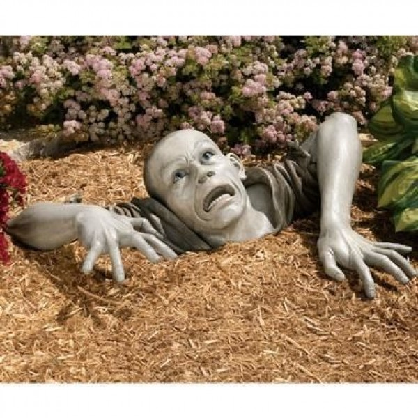 SkyMall's Zombie Sculpture