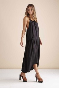 Black Maxi Dress - REVEAL Swimwear
