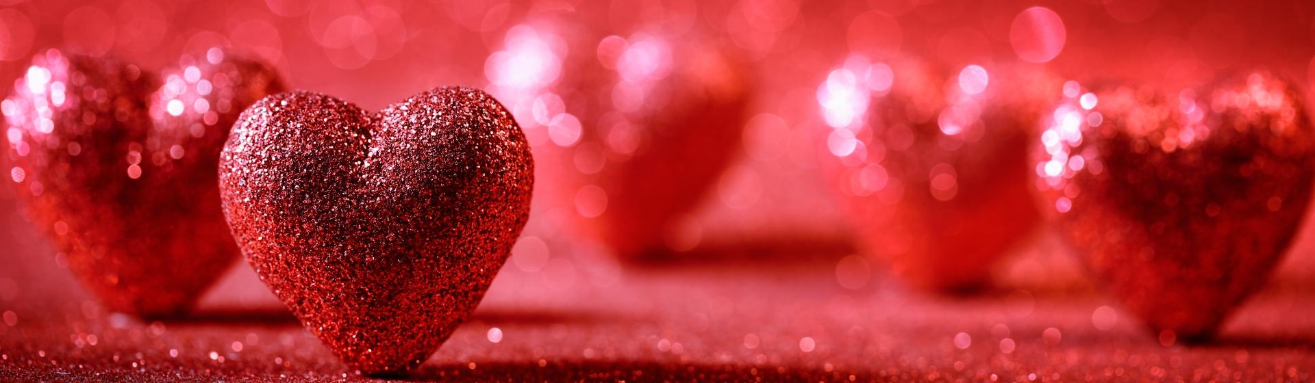 Pretty decorative hearts
