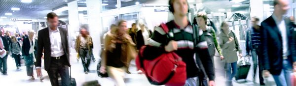Holiday Airport Crowds