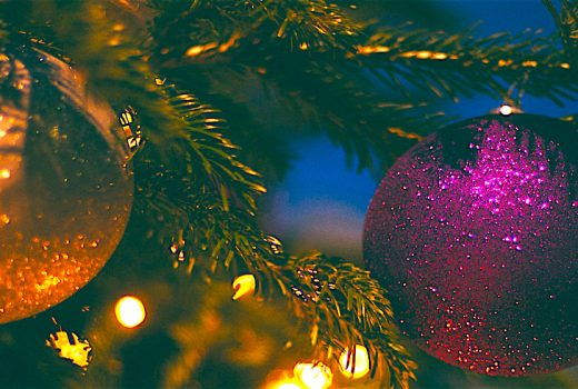 lights on a tree - When Is The Best Time To Buy Christmas Decorations