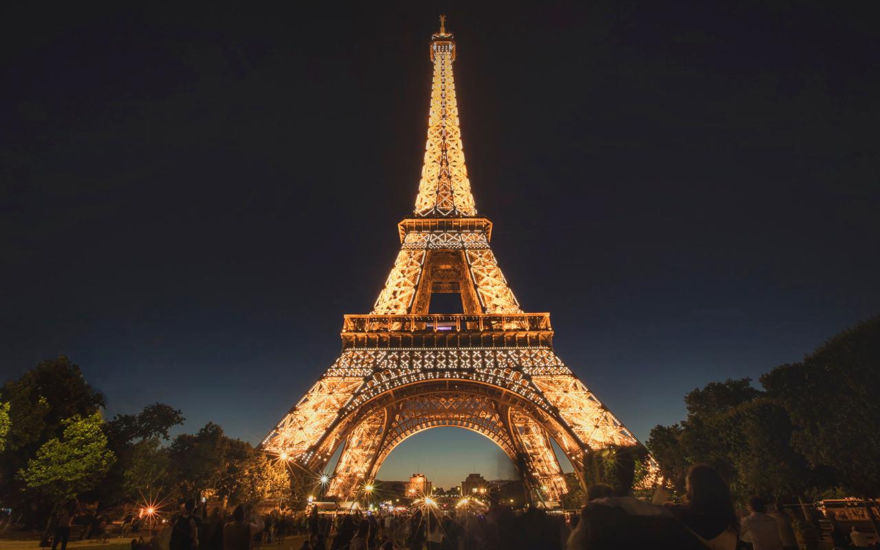 2018 Top Travel Destinations - Paris