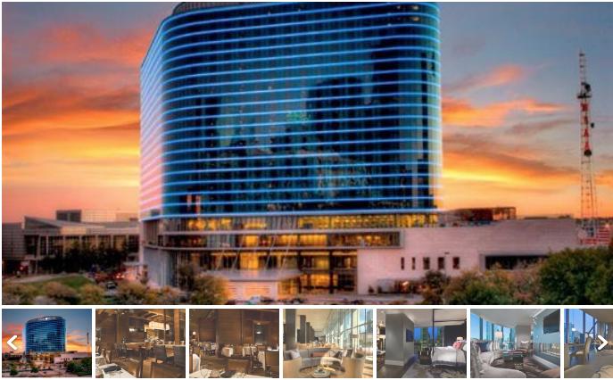 slider of hotel photos