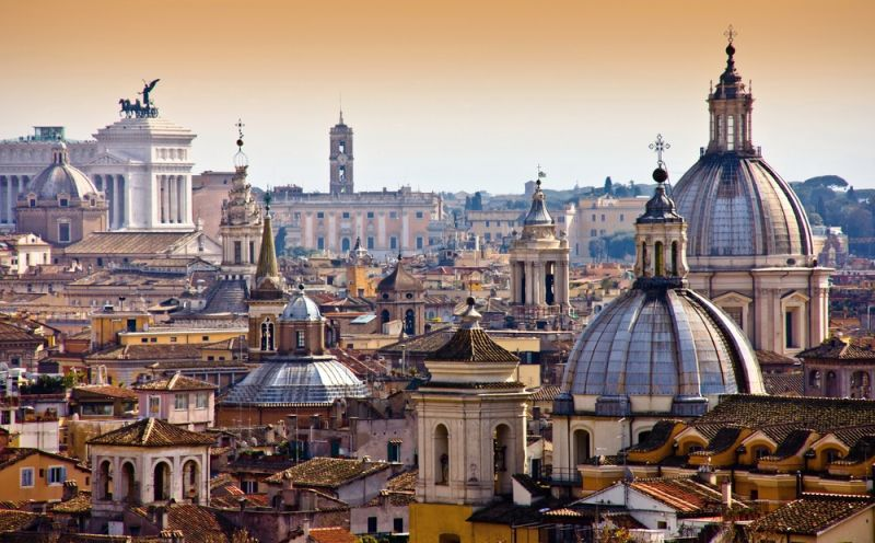 rome vaccinated americans