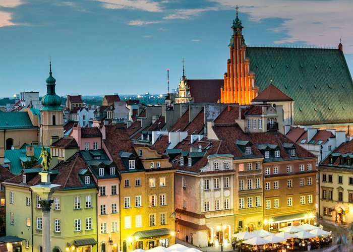 Warsaw wheelchair-accessible city